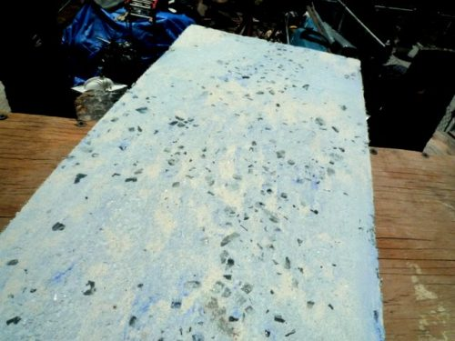 custom made concrete countertop installer