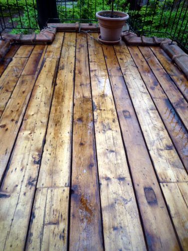 New York Salvaged Green Deck
