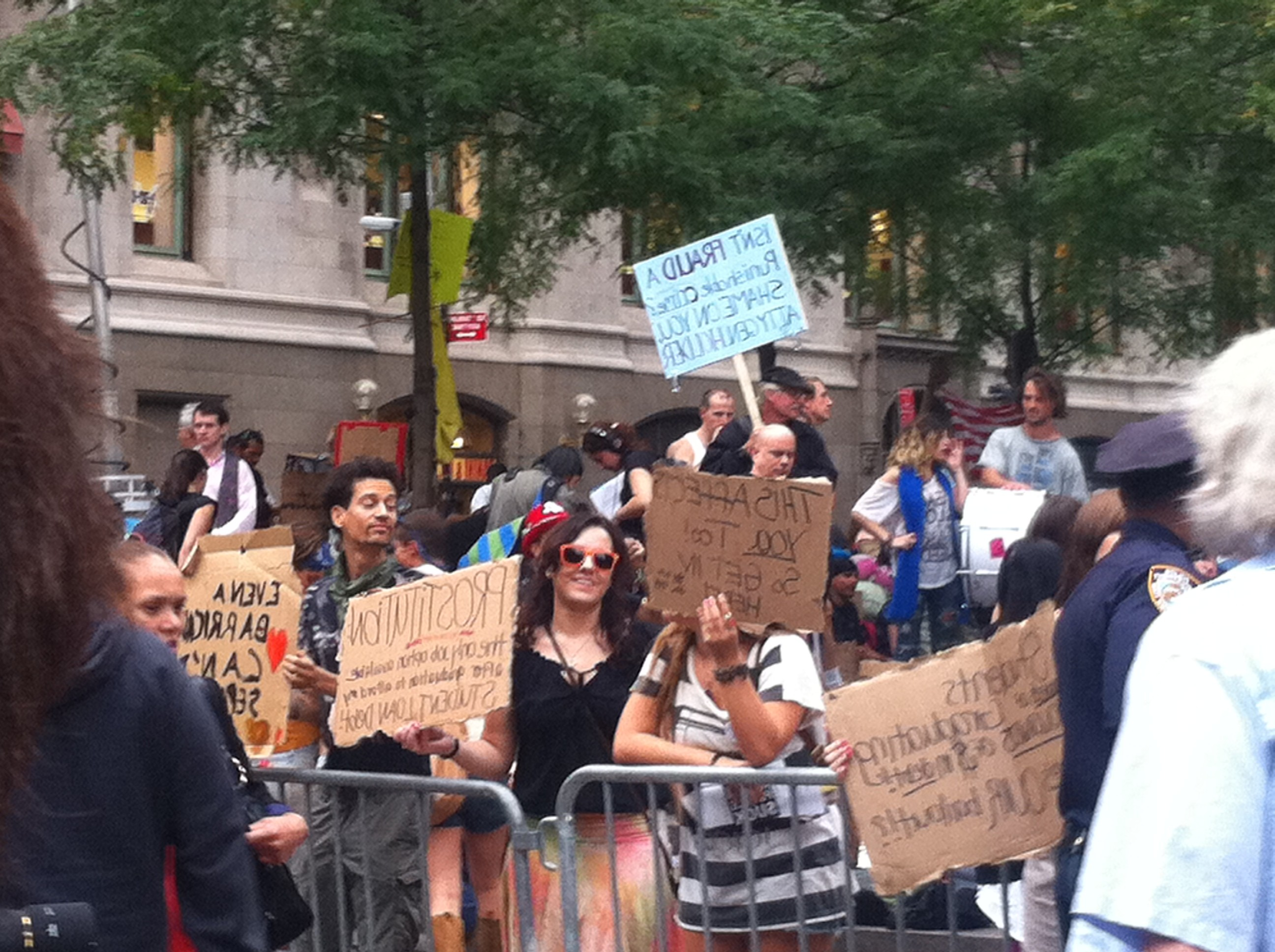 Protest, Occupy Wall Street