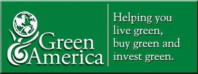 Helping you live green, buy green, and invest green