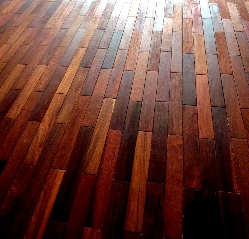 Installed Salvaged Floor