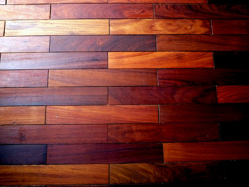 Mahogany floor and tung oil