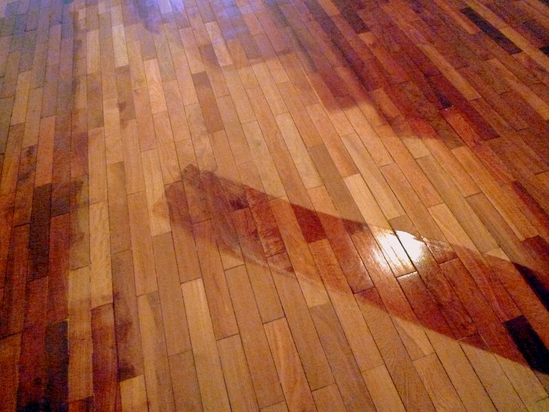 Salvaged Floor Tung Oil Application Eco Brooklyn