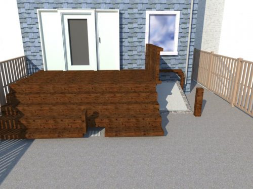 Williamsberg Deck Rendering