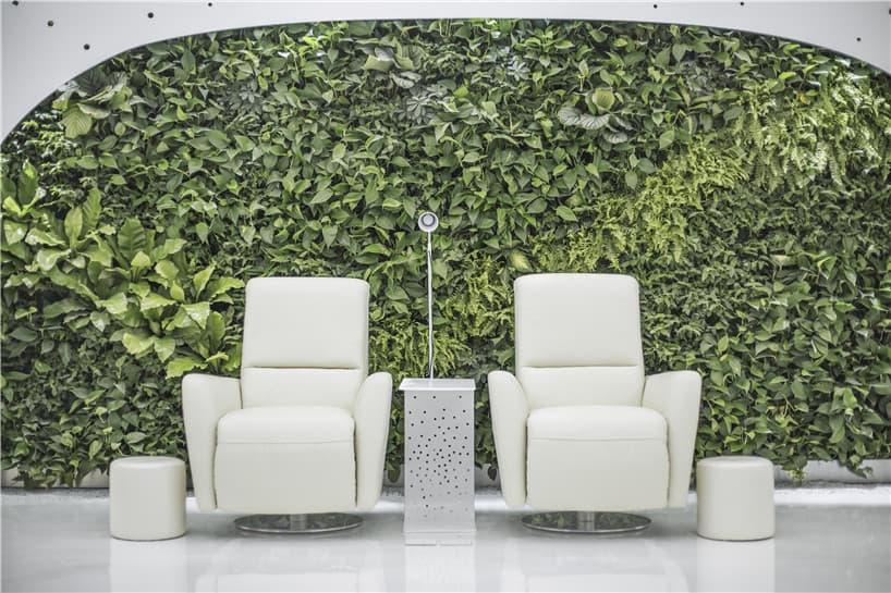 living wall instal